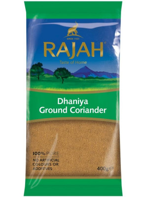 Rajah Dhaniya Ground Coriander, 400 gms