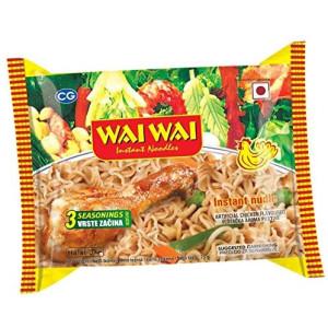 WAI WAI INSTANT NOODLE CHICKEN FLAVOUR - 75 gm
