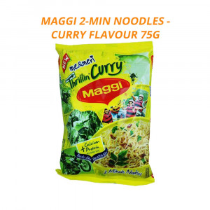 Maggi 2-Minute Noodles curry 75g Case of 20 Packet