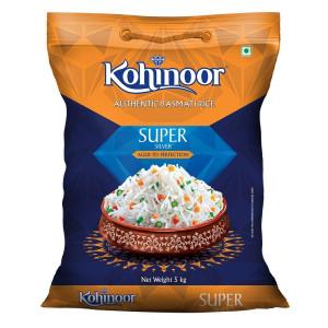 Kohinoor Silver Range Super Basmati Rice 5 kg