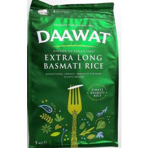 Daawat Extra Long Basmati Rice 5 kg