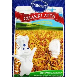 Pillsbury Chakki Atta 10 Kg   100% Whole Wheat   Full of Fibre   Make Rotis & Chappatis   Traditional Indian Flour   Nutritious   Vegetarian