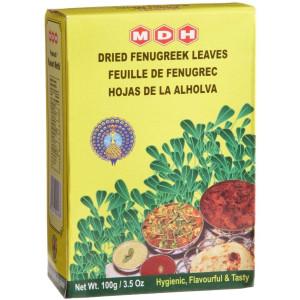 MDH Kasoori Methi (Dried Fenugreek Leaves) 100 gm