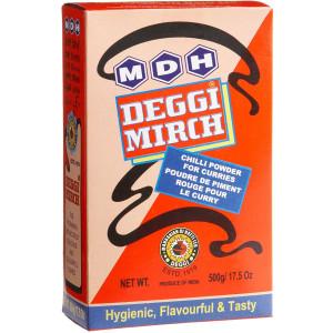 MDH Deggi Mirch 500gm  (Pack of 2)