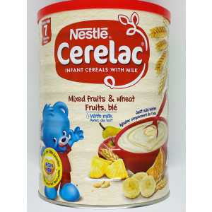 CERELAC MIX FRUIT AND WHEAT WITH MILK