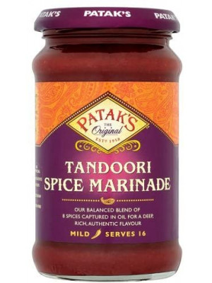Patak's Tandoori Spice Marinade, 312gm  pack of 6